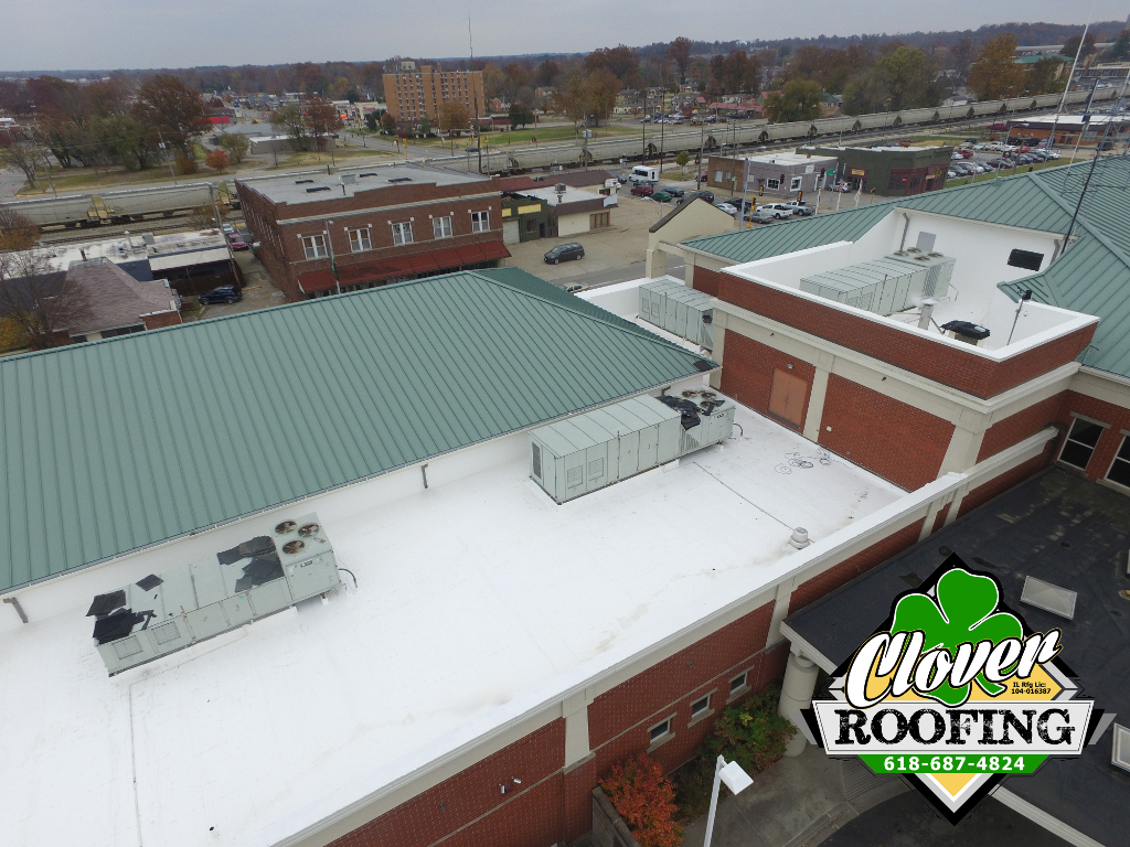 Commercial Amp Industrial Roof Coatings Clover Roofing